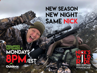 WINTER IS COMING.... and so is the new season of Nick's Wild Ride!