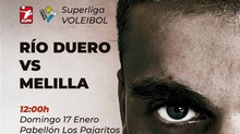 El Río Duero Soria estrena el 2021 ante Melilla Sport Capital