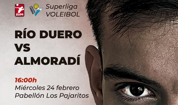 El Río Duero Soria quiere mantener su dinámica ante un correoso Voleibol Almoradí