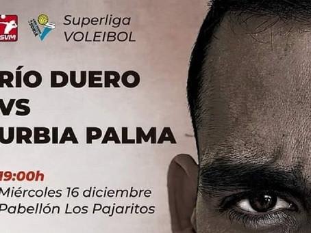 El Río Duero Soria se juega ante Urbia Voley Palma el todo o nada para entrar en la Copa