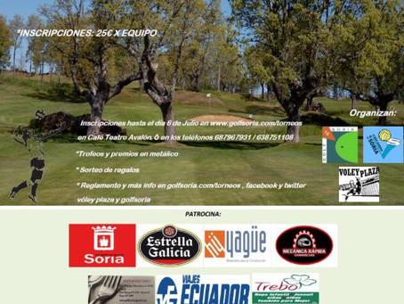 I torneo de Voley-hierba Golf Soria