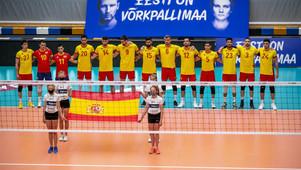 España comienza la Golden League con el celeste Gimeno en sus filas