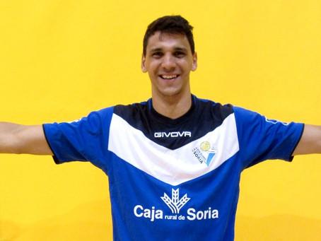 Igor Silva aterriza en Soria