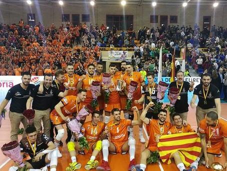 CV Teruel CAMPEÓN DE LA COPA DEL REY