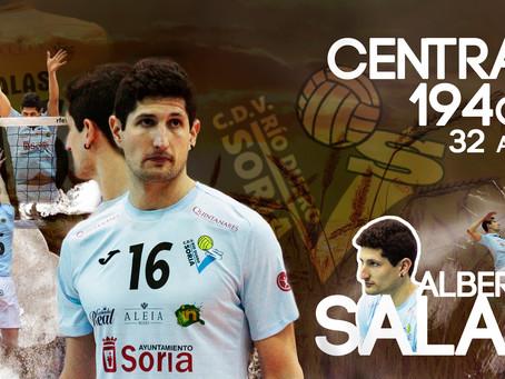 Alberto Salas vestirá un año más de celeste