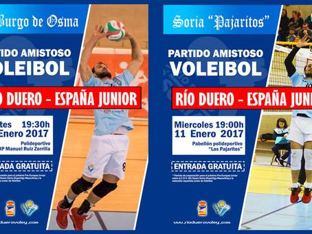 Partidos amistosos VS ESPAÑA JUNIOR