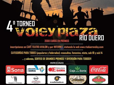 Arranca el torneo del verano en Soria - VOLEY PLAZA 2017