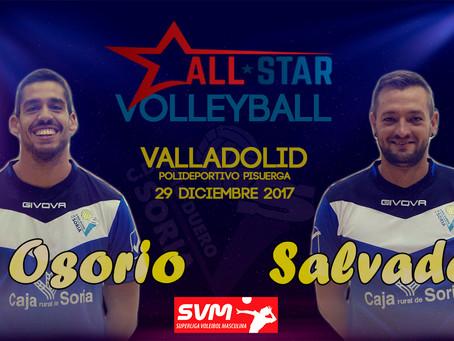 Salvador y Osorio representarán al Río Duero en el  ALL-STAR