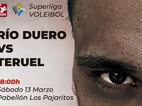 Río Duero Soria cierra la Liga Regular ante CV Teruel, uno de los grandes favoritos
