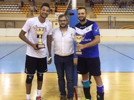 CV Teruel vence en el trofeo San Saturio por 2-3