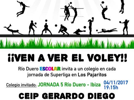 Río Duero ESCOLAR invitará a un colegio en cada jornada