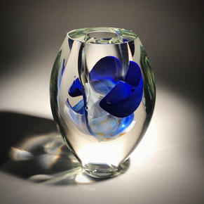 Blue Floating