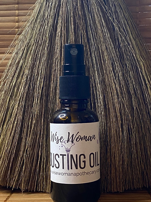 Dusting oil