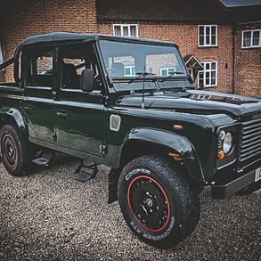 Defender 6x6 recently built for a Customer in the UK