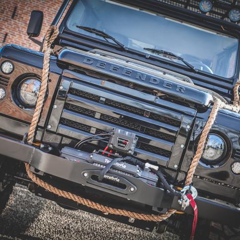 "HISTORIC SPECTRE ""007 Spec"" 110 300Tdi Double Cab EDITION in Santorini Black Metallic"