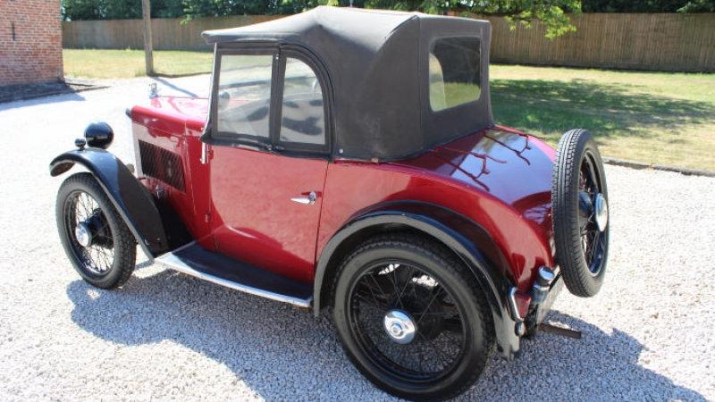 (SOLD) - 1932 Morris Sports Tourer