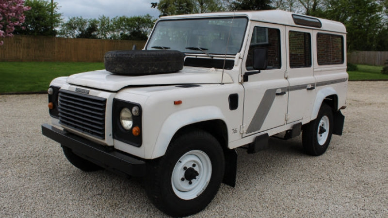 (SOLD) - LHD One Owner - 1992 110 200tdi CSW