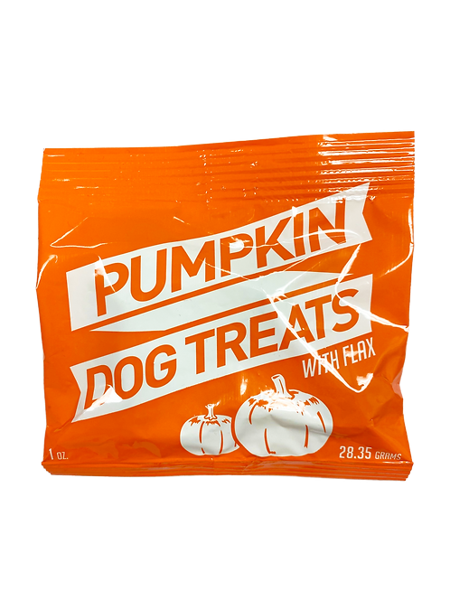 Dog Treats - Pumpkin (100 1oz. bags)