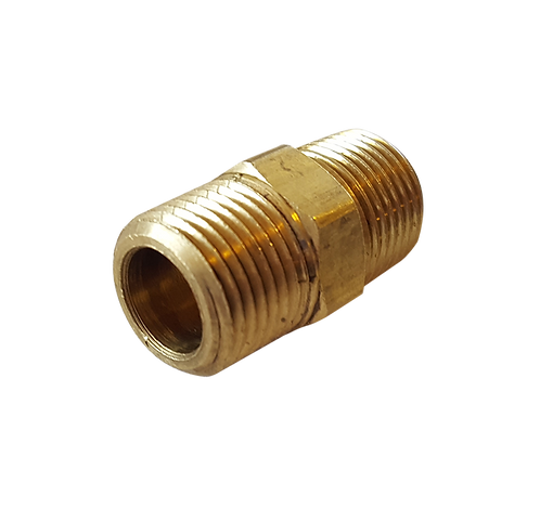 Brass Male to Male Pipe Connector