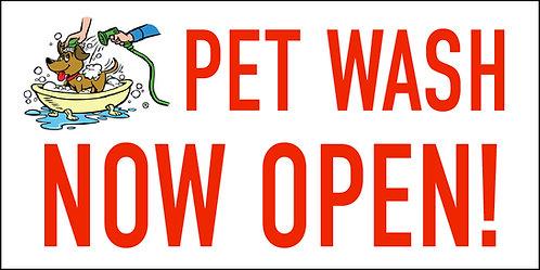 Pet Wash Now Open!