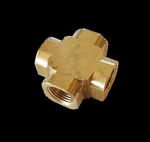 Brass Barstock Cross
