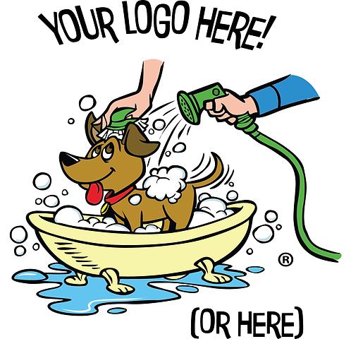 "Seasonal and Customizable Static Clings! - ""Your Logo"""