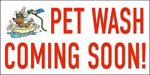 Pet Wash Coming Soon!