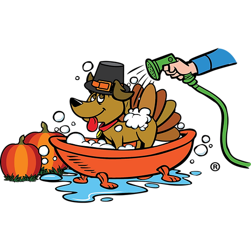 Seasonal Static Clings! - Thanksgiving Paws