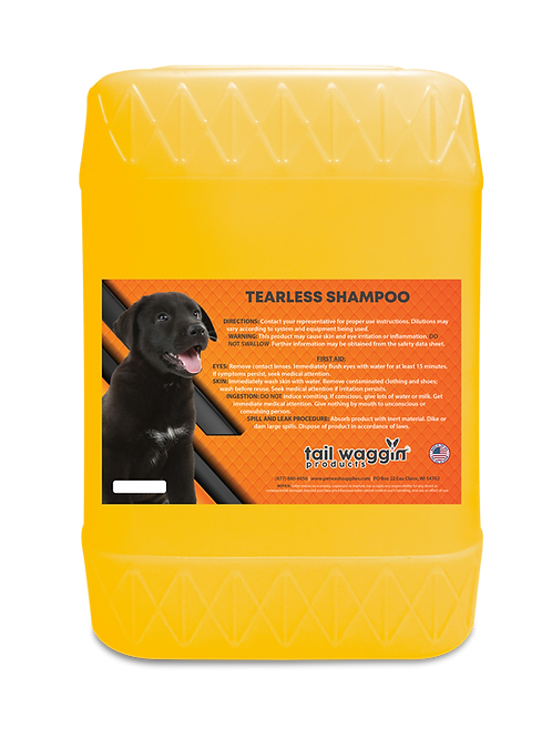 Tearless Shampoo Concentrate - 5 Gallon