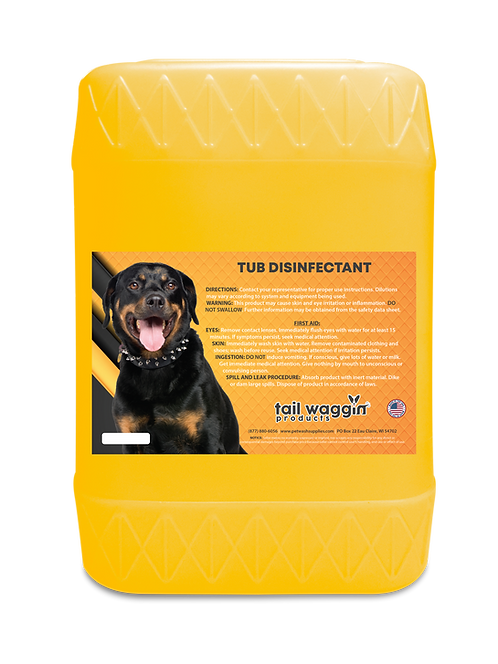 Tub Disinfectant Concentrate - 5 Gallon