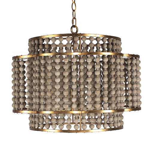 Carina Chandelier with Antique Gold finish