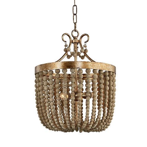 Darcia small chandelier in Antique Silver