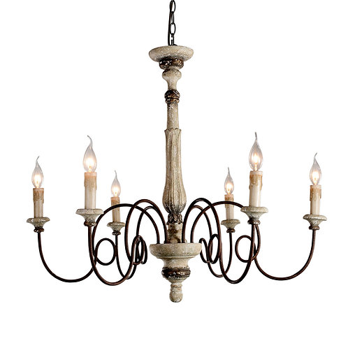 Teresina 6-light Chandelier