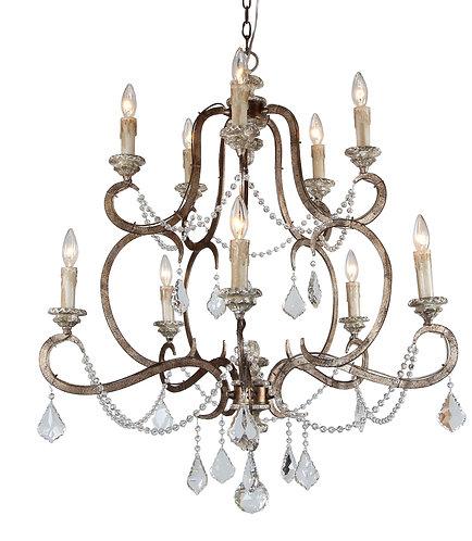 Ballerina10-light chandelier