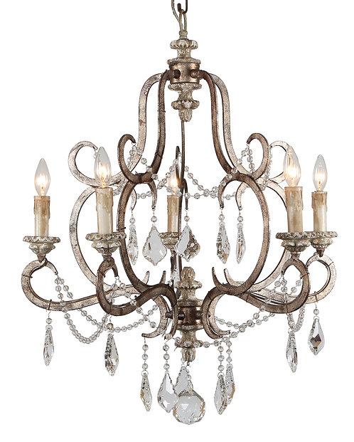 Ballerina 5-light chandelier