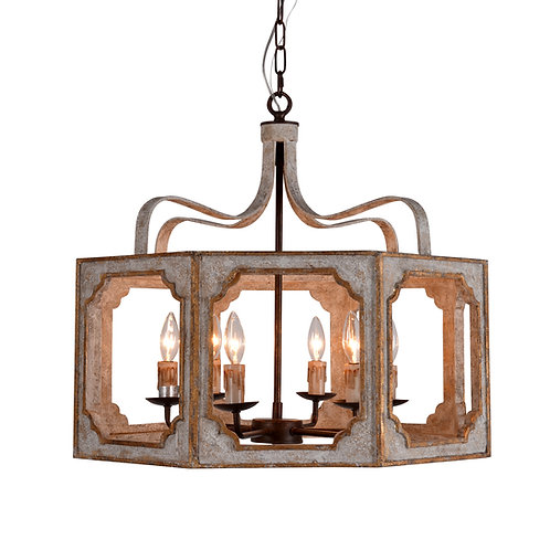 Nadia Octagon Chandelier - Small