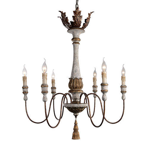 Calandra 6-light Chandelier