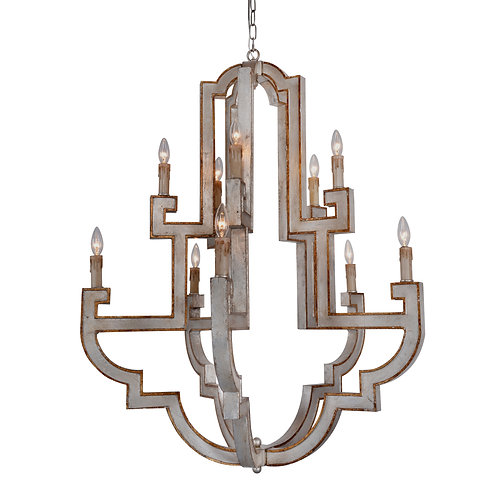 Jamelia  10-light Large chandelier