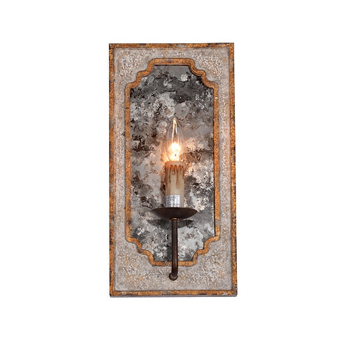Nadia Antique Mirror Sconce