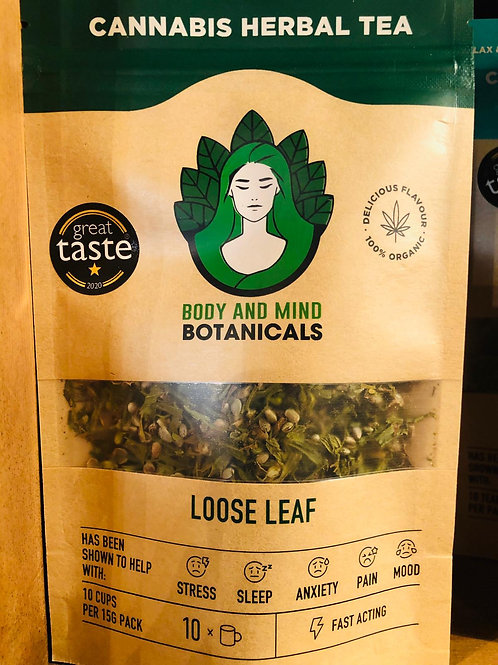 Body and Mind Botanicals Cannabis herbal tea