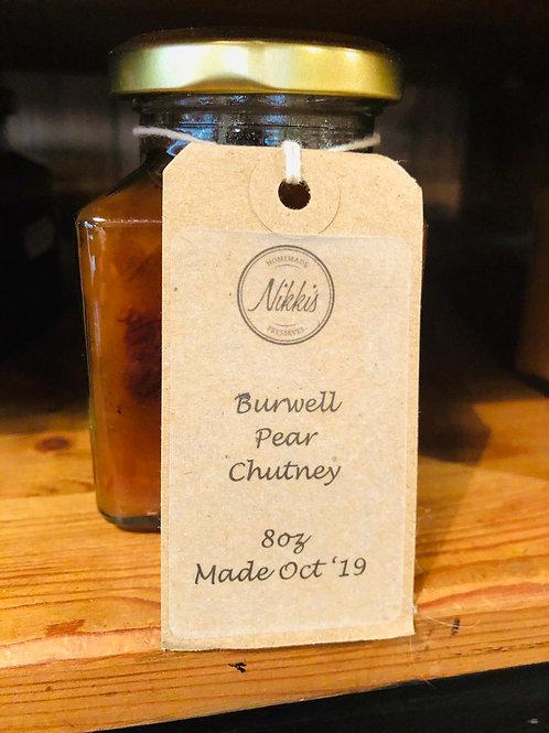 Burwell & Pear Chutney