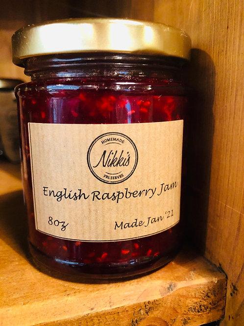 Nikki English Raspberry Jam