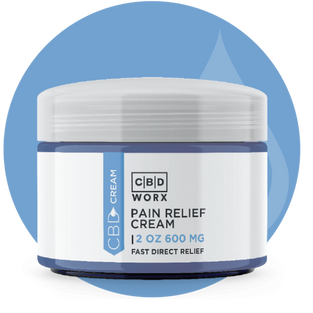 CBD Pain Relief Cream 2 oz. (600 mg)