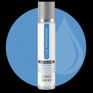 CBD Hand Sanitizer 4 oz. (250 mg)