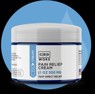 CBD Pain Relief Cream 1 oz. (300 mg)