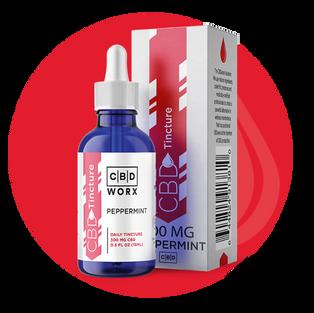 CBD Peppermint Tincture 0.5 oz. (300 mg)