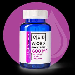 CBD Gummy Bears 30 ct (600 mg)