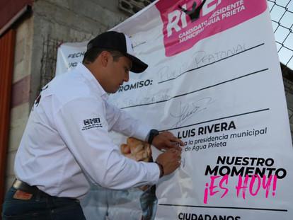 UN COMPROMISO MÁS DE LUIS RIVERA, AHORA EN SAL SI PUEDES