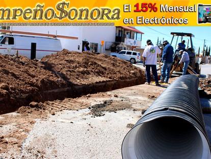 INICIA SEGUNDA ETAPA DE REPOSICION DE SUBCOLECTOR COLAPSADO