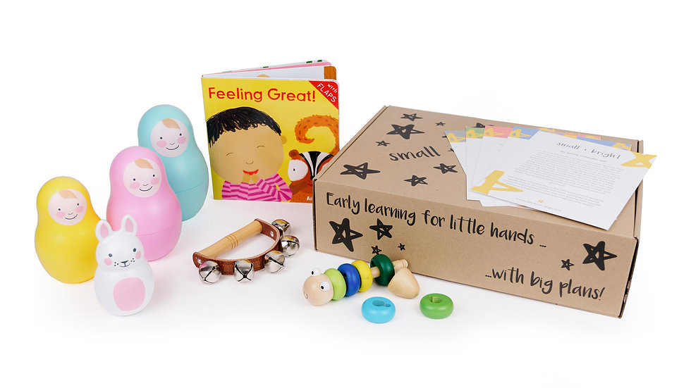 montessori childrens activity box for 15 months old